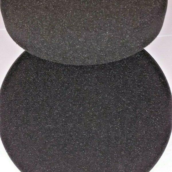 COMPOUND-POLISHING-BUFFING-HEADS-BLACK-VELCRO-160MM-X-30MM-SOFT-X-2-293562087244-2