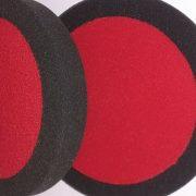 COMPOUND-POLISHING-BUFFING-HEADS-BLACK-VELCRO-160MM-X-30MM-SOFT-X-2-293562087244-3