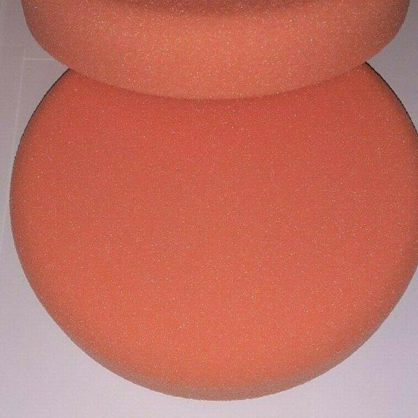 COMPOUND-POLISHING-BUFFING-HEADS-ORANGE-VELCRO-160MM-X-30MM-MEDHARD-X-2-303553034334-3