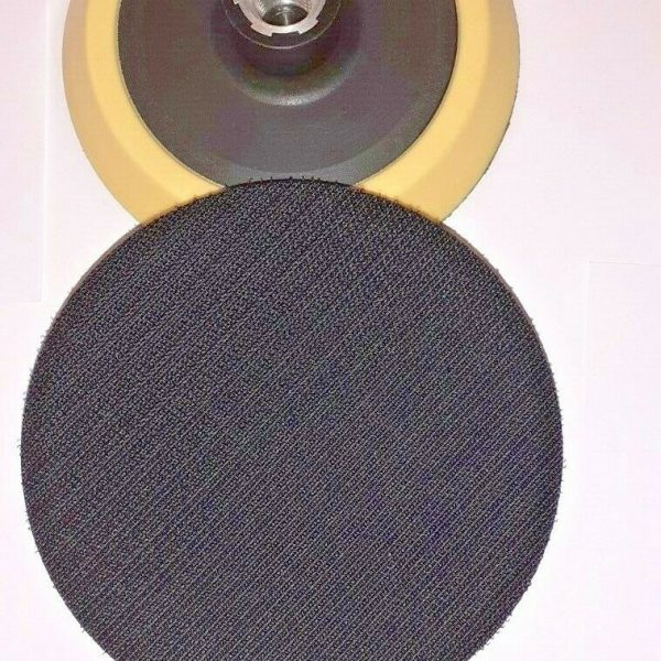 BACKING-PAD-DISC-FOR-COMPOUND-POLISHING-BUFFING-VELCRO-115MM-M14-FITTING-303553047797-2
